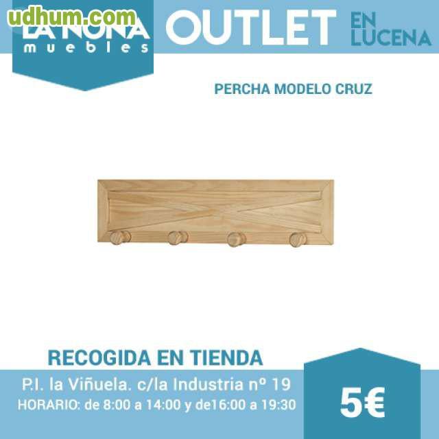 Percha modelo cruz for Muebles lucena liquidacion