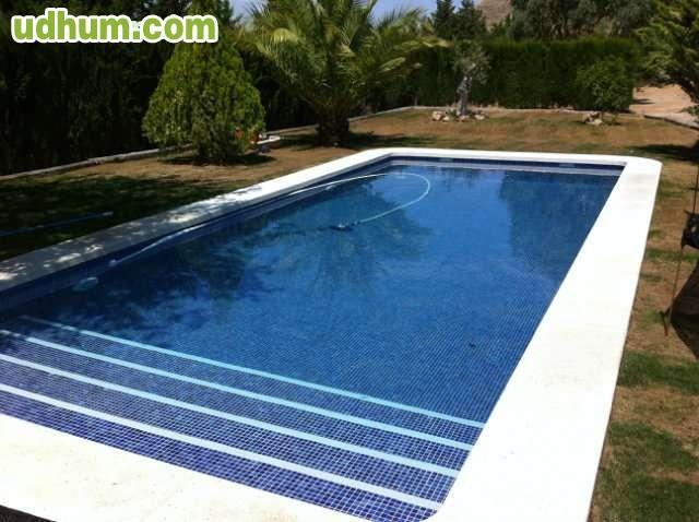 Oferta piscina 8x4 por s lo 10 900 for Material de piscina
