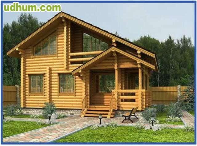 Casas de madera tronco redondo - Casas de troncos redondos ...