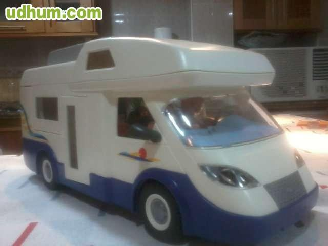 Autocaravana de playmobil for Autocaravana playmobil