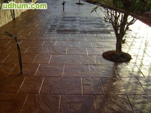 Suelos de hormigon impreso decorativo for Hormigon impreso suelo