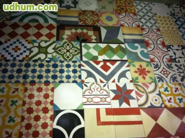 baldosas mosaico hidraulico. Black Bedroom Furniture Sets. Home Design Ideas