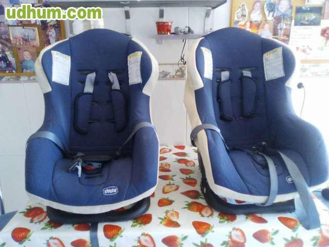 Dos sillas de seguridad para el coche for Sillas seguridad coche