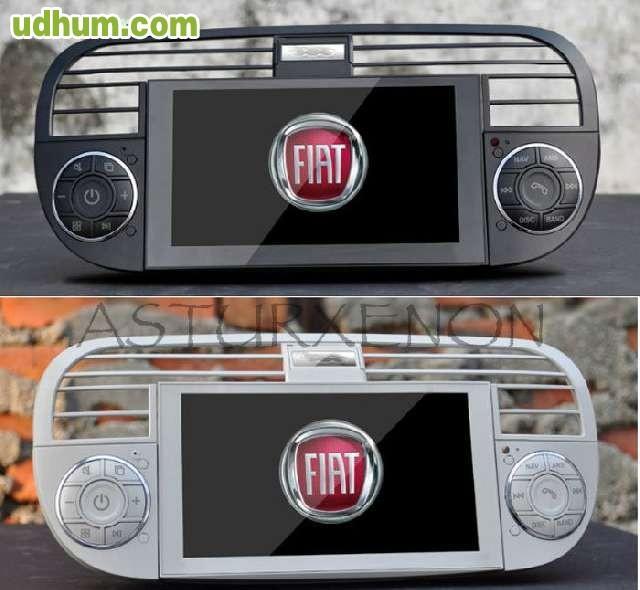radio gps dvd bluetooth para fiat 500. Black Bedroom Furniture Sets. Home Design Ideas