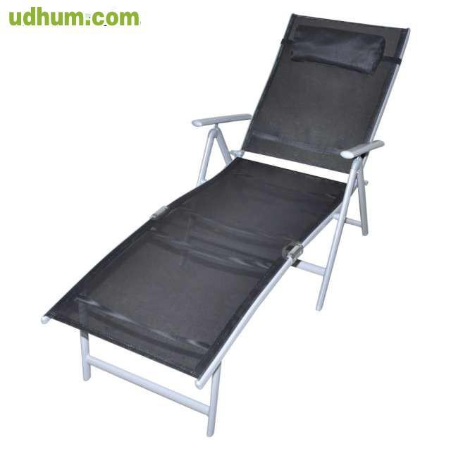 Set de muebles de jardin aluminio 12 pie for Muebles de aluminio