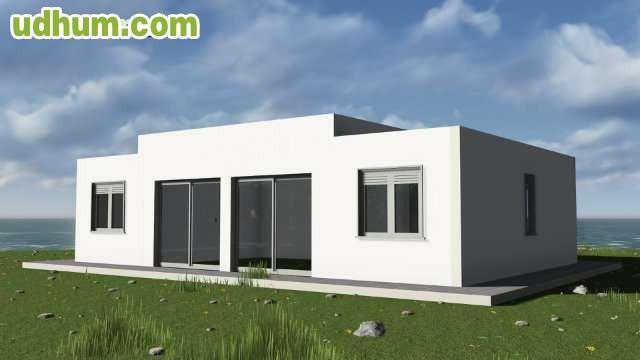 Casa prefabricada de hormigon con solar - Casas prefabricadas granada ...