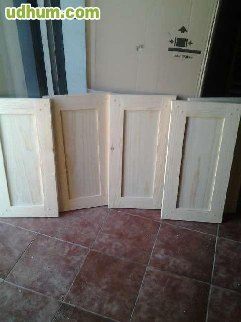 Directo de fabrica puertas de cocina for Puertas semi macizas blancas