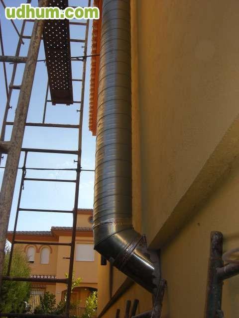 Limpieza de chimeneas en granada for Limpieza de comunidades en granada