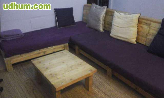 Muebles reciclados de palets - Muebles de palets reciclados ...