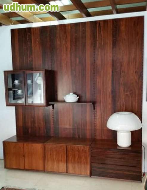 Vendo mueble de sal n mural palisandro for Vendo mueble salon
