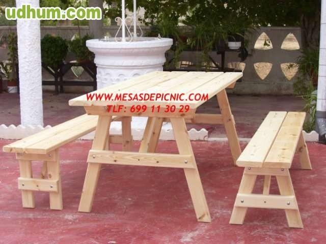 Mesas de madera exterior - Mesa de madera exterior ...