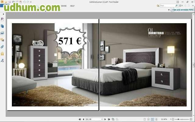 Dormitorio matrimonio barato wengue for Dormitorio wengue y plata