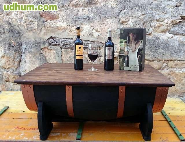 Mesa barril de vino - Barril de vino ...