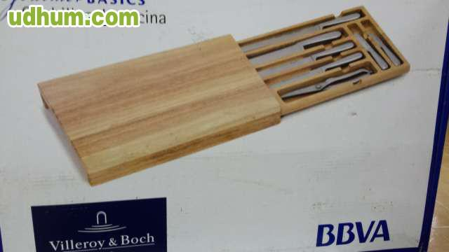 set de cuchillos villeroy boch nuevo