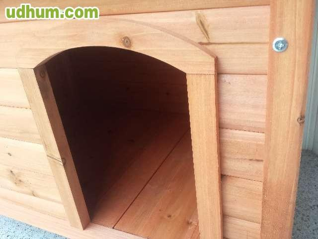 Caseta de perro mediano for Vendo caseta resina
