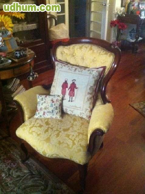2 sillones del siglo xix - Sillones antiguos restaurados ...