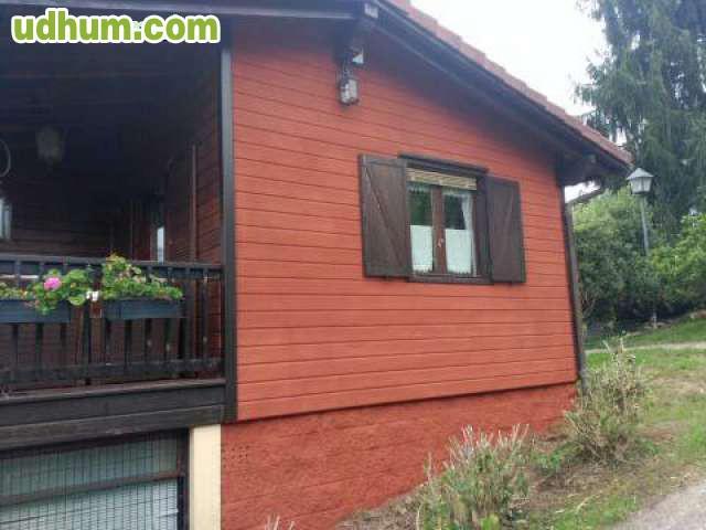 Corcho proyectado en casas de madera - Casas de corcho ...