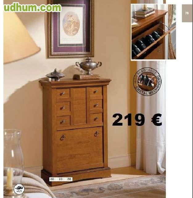 Zapateros de madera de alta calidad for Muebles ledesma