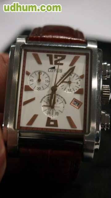 2225cd51db14 Reloj Lotus cronómetro hombre ref. 15249 5. Caja de acero