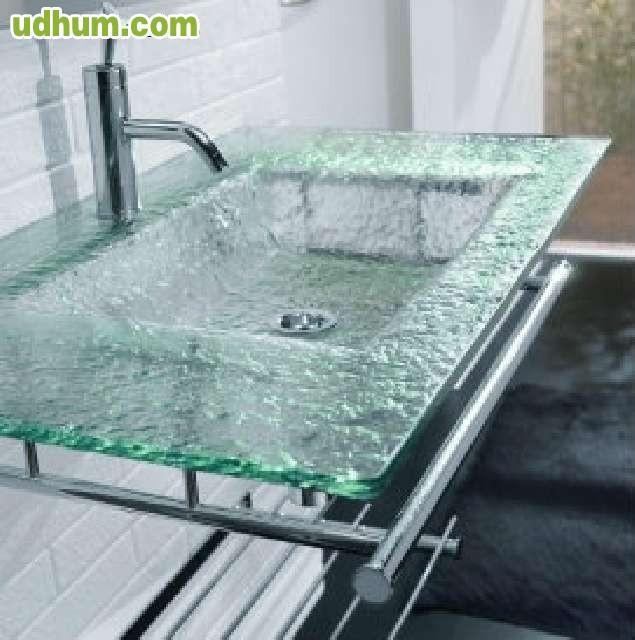 Encimera de cristal a medida - Encimeras de cristal ...
