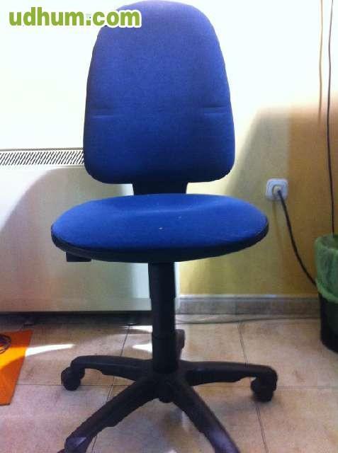 Sillas de gas con ruedas para oficina for Sillas de ruedas usadas