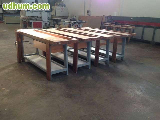 Bancos de carpinteria trabajo de madera - Carpinterias de madera en valencia ...