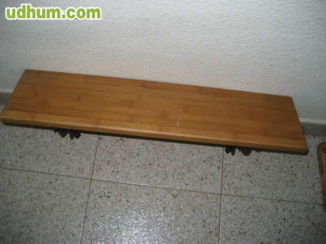 Madera estanteria impecable soporte hi for Vendo caseta metalica