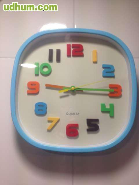 Reloj de pared para cocina o habitacion - Reloj de pared para cocina ...
