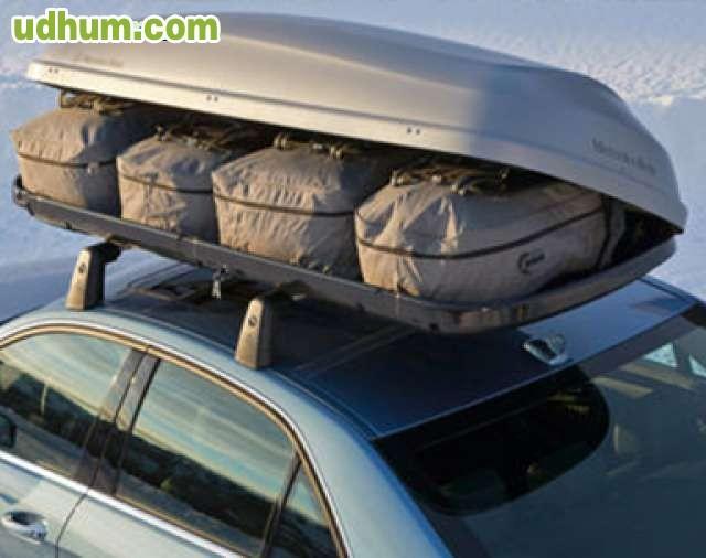 Cofre alquiler for Maletero techo coche