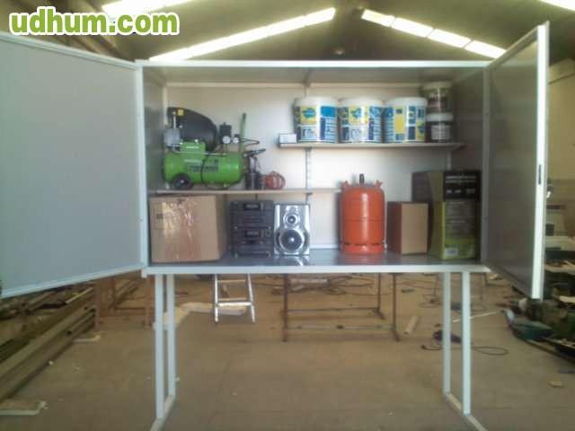 Trastero armario para garajes - Armarios para trasteros ...