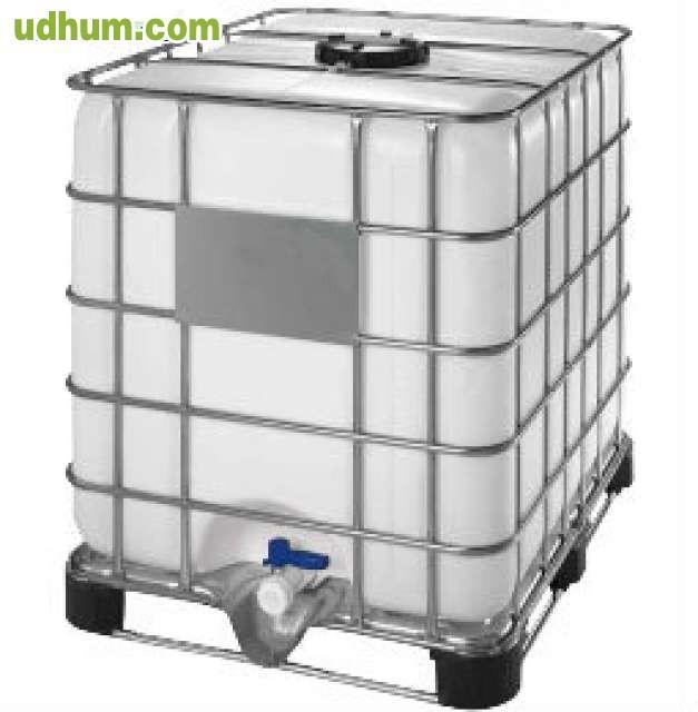 Contenedor ibc palet hibrido 1000 litros Estanque ibc 1000 litros