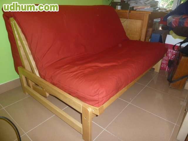 Sofa cama plegable con autentico tatami for Sofa cama plegable