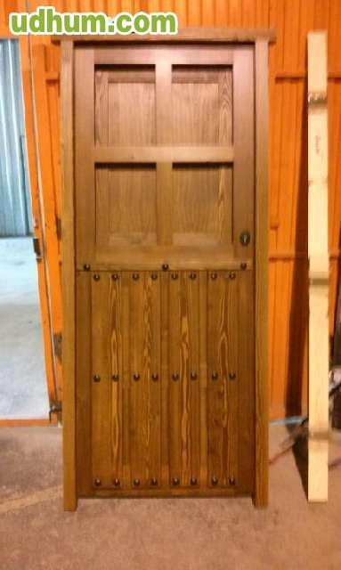 Puertas estilo rustico a medida for Puertas a medida