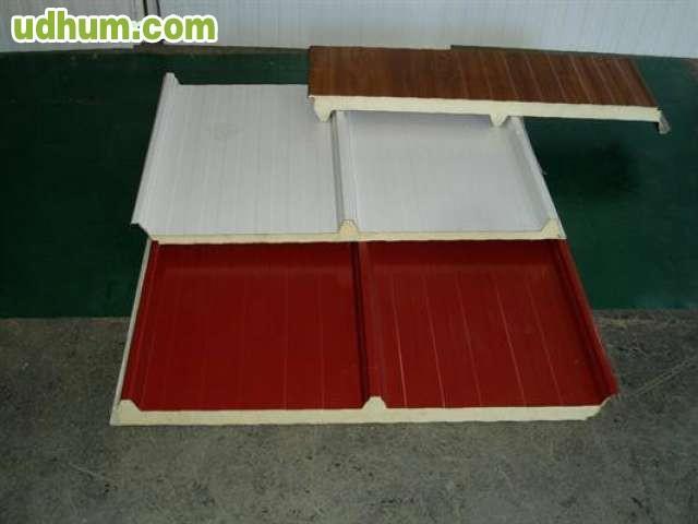 Paneles de cubierta for Panel sandwich las palmas
