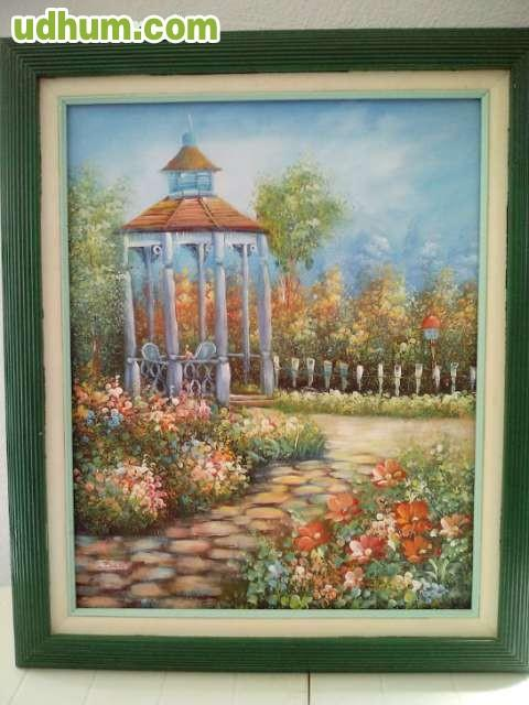 Laminas Pinturas Marcos En Madera