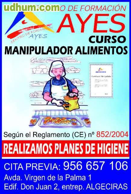Manipulador alimentos algeciras - Carnet de manipulador de alimentos homologado ...