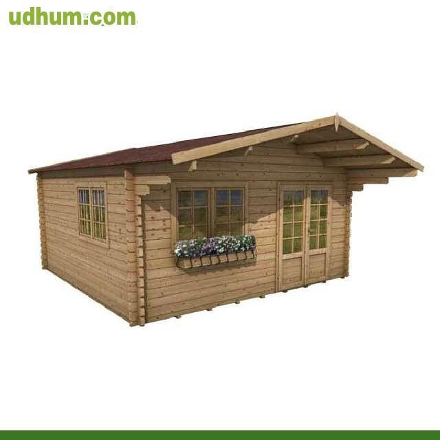 Oferta casa madera 5x5 rebajas for Casas de madera ofertas liquidacion