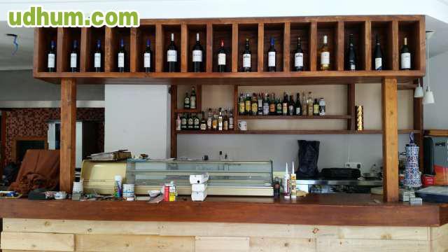 Fabricaci n madera restaurante for Fabricacion de bares de madera