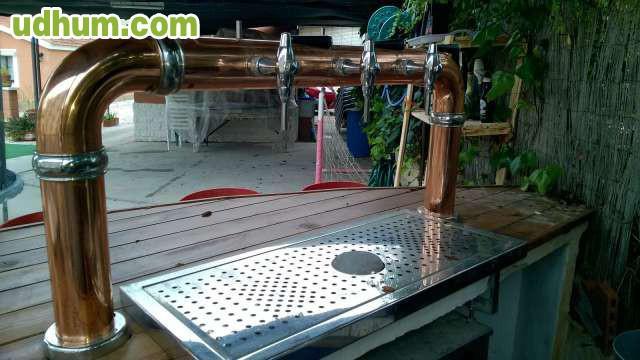 Grifo de cerveza cobre for Grifos de cobre