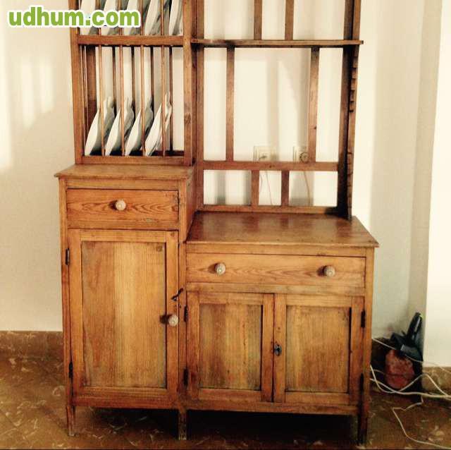 Mueble de cocina antiguo vintage for Muebles cocina vintage