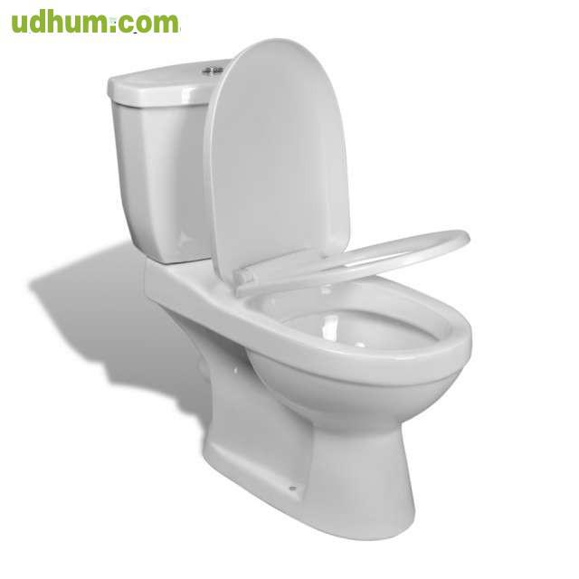 Inodoro con cisterna blanca - Inodoro colgante ...