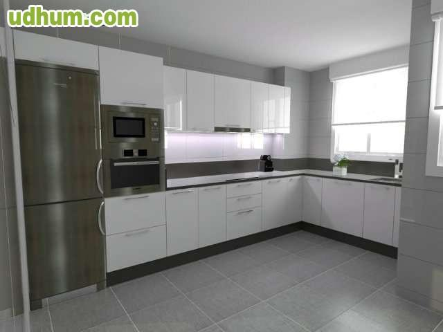 Muebles de cocina a medida fabricante for Cocinas lineales de cuatro metros