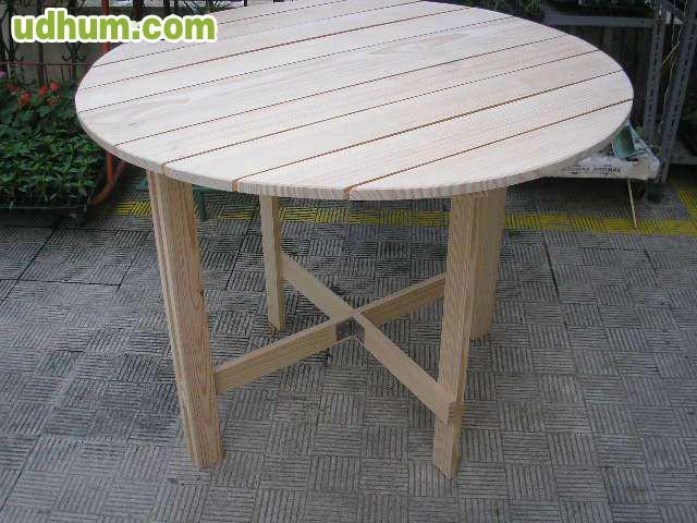 mesa plegable 1 metro di metro nueva