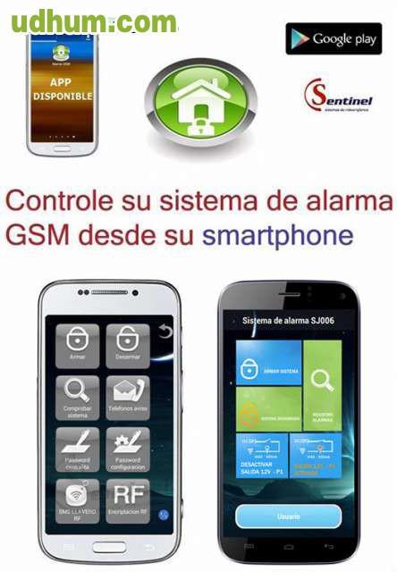 Sistema tipo gsm sin cuotas alarma aviso - Sistema de alarma gsm ...