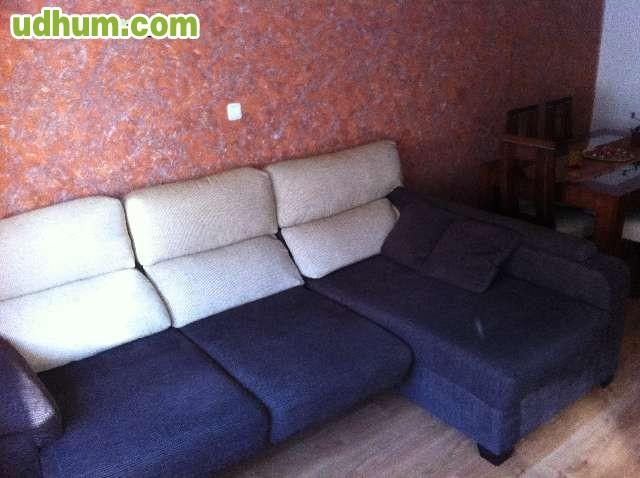 Sofa de tres plazas m s cheslong - Sofa para tres ...