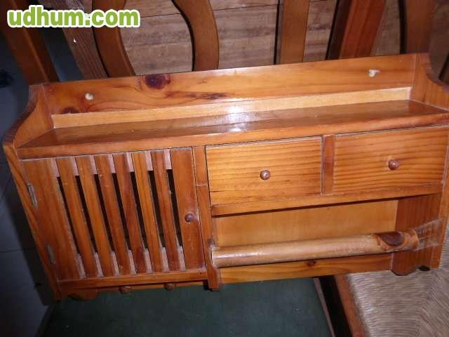 Mueble de madera de pino para cocina - Muebles de cocina en madera de pino ...