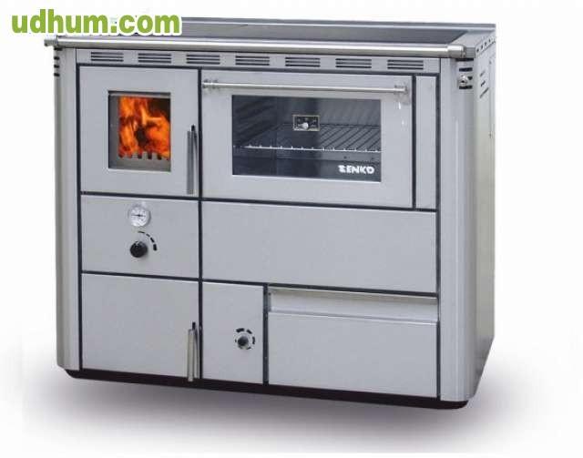 Cocina de le a horno para radiadores - Estufa de lena para radiadores ...