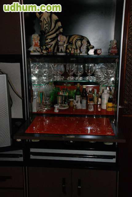 Mueble de sal n comedor vintage a os 70 for Mueble salon 3 metros