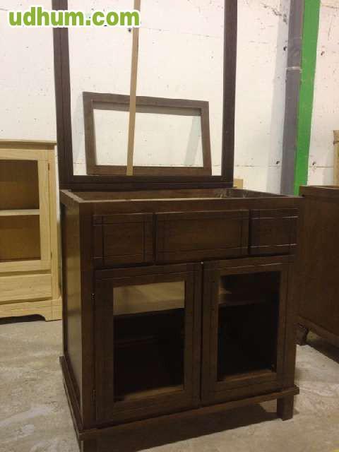 Muebles de ba o pintados en liquidaci n 2 for Muebles de mimbre pintados