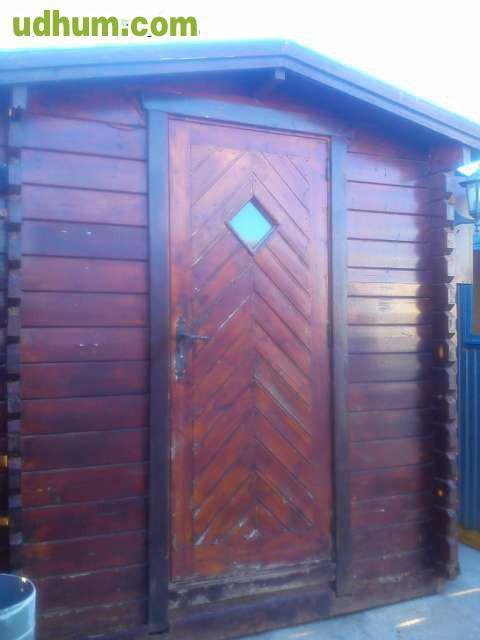 Vendo caseta de madera con cocina for Vendo caseta jardin